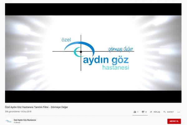 Özel Aydın Göz Hastanesi Tanıtım Filmi