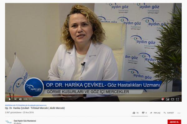 Aydın Göz Hastanesi - Op. Dr. Harika Çevikel