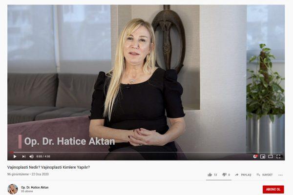 Op. Dr. Hatice Aktan Video Çekimleri